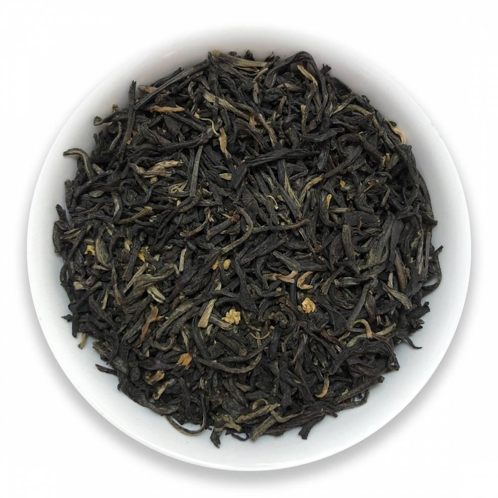 Чай с османтусом (гуй хуа ча) или свойства душистой чайной оливы