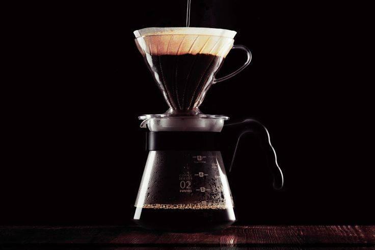 Керамическая воронка-дриппер для заваривания кофе пуровер 350 мл оранжевый (flame) серия чайники и все для чая le creuset 61223000900005 с доставкой
