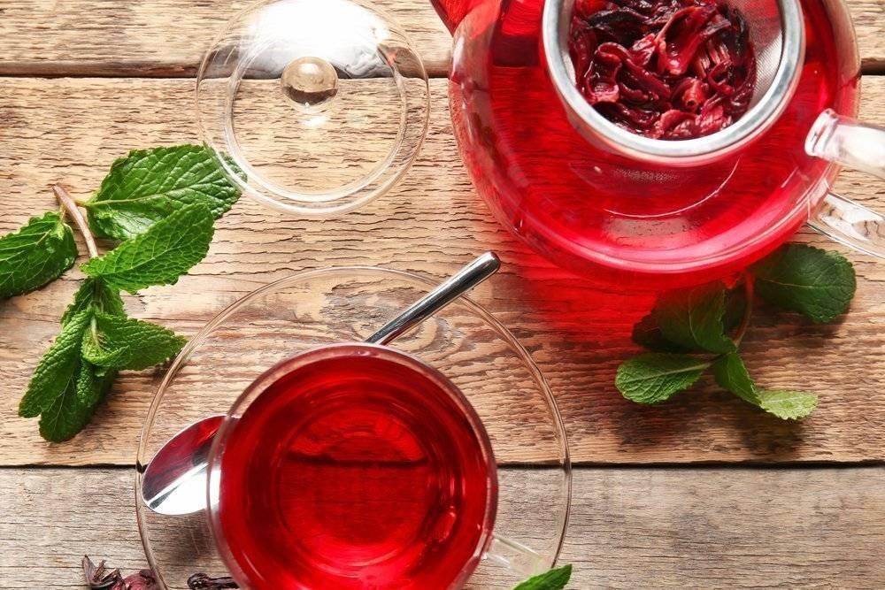 Чай из гибискуса: что это такое, в чем полезные свойства и вред для здоровья, как заварить напиток из цветков каркаде и вырастить hibiscus sabdariffa дома?дача эксперт