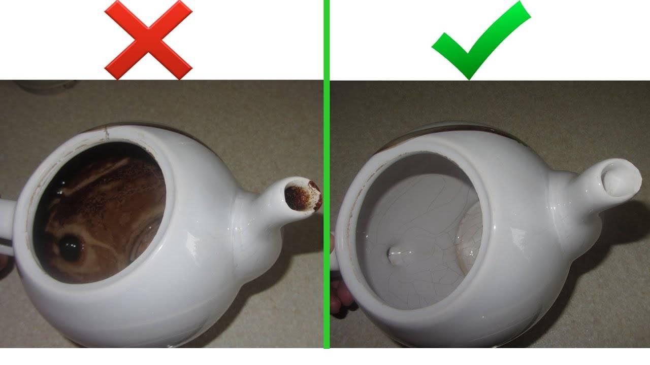 Как очистить термос внутри от чайного налёта