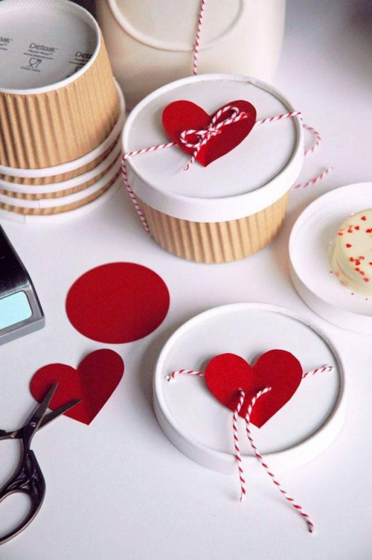 Подборка мастер-классов по изготовлению подарков на день влюбленных своими руками