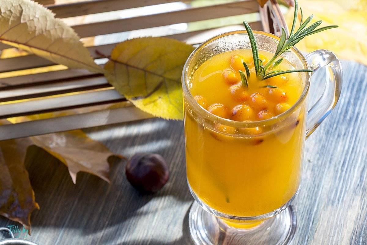 Облепиховый чай рецепт с фото пошагово - 1000.menu