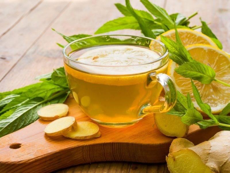 Имбирный чай с лимоном и медом – рецепт приготовления