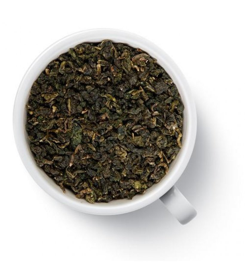 «молочный улун» (зеленый чай най сян цзинь сюань)