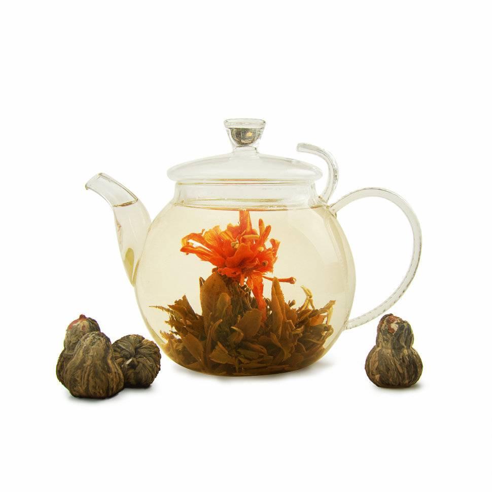 Связанный чай — чай который распускается как цветок