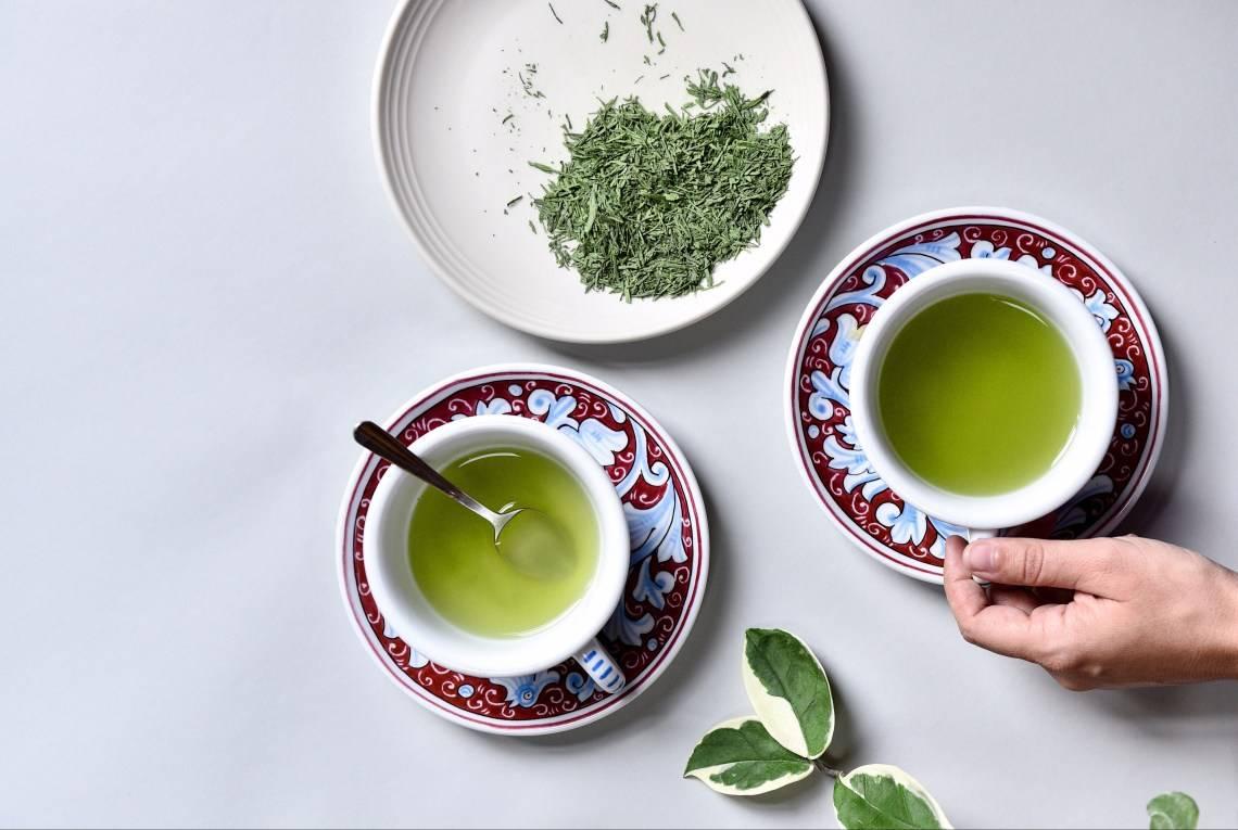 Описание японского зеленого чая гёкуро