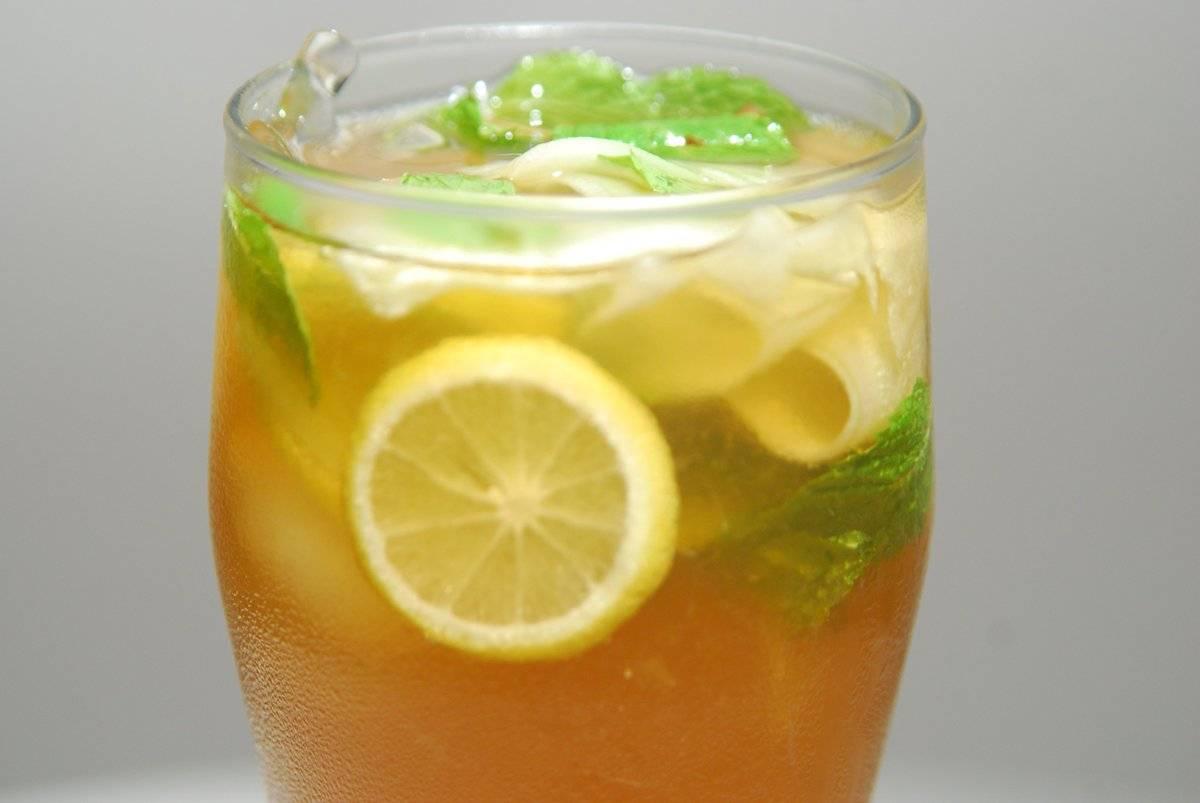 Как  сделать холодный чай в домашних условиях вкусно и быстро