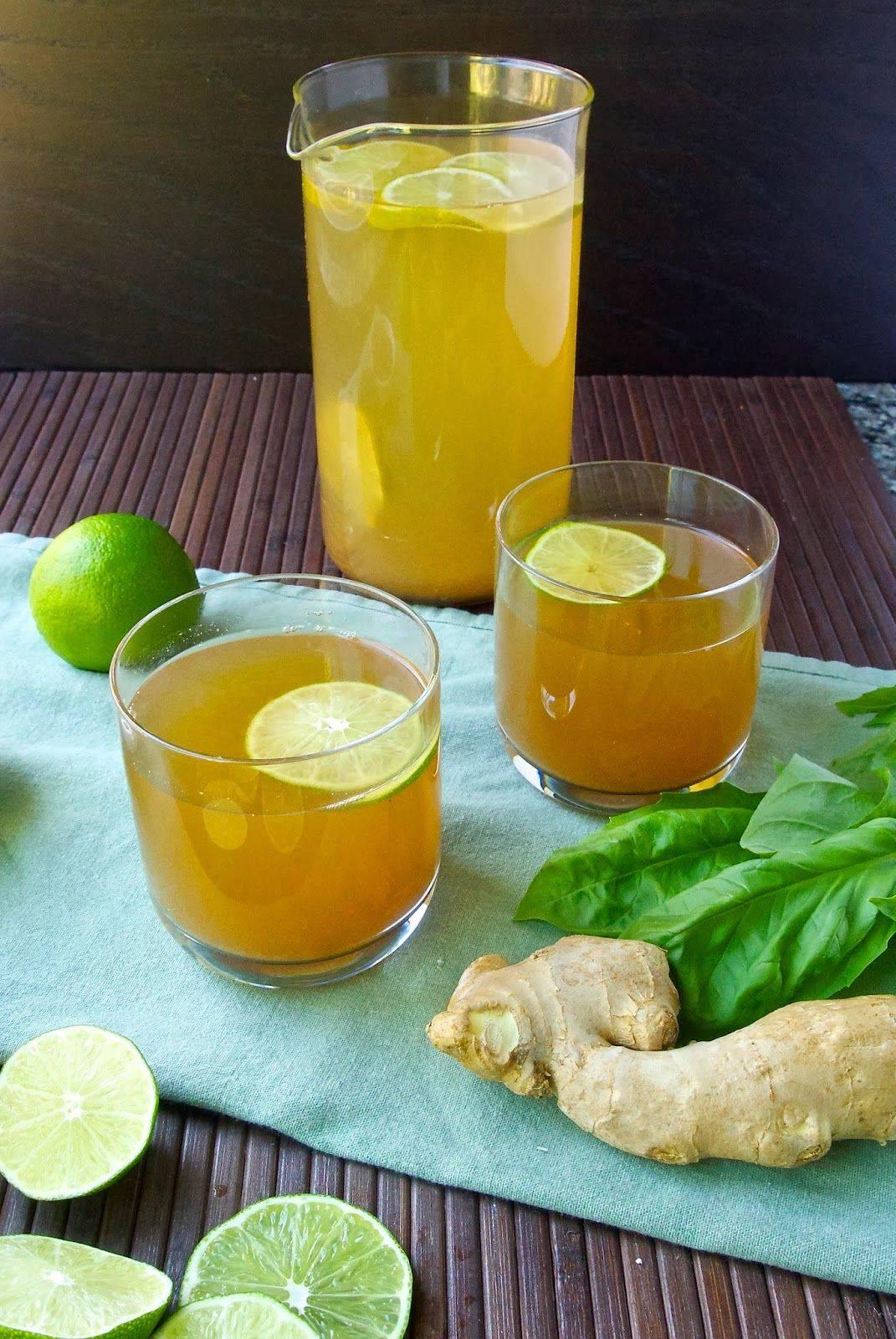 Чай с имбирем от простуды - простудные заболевания