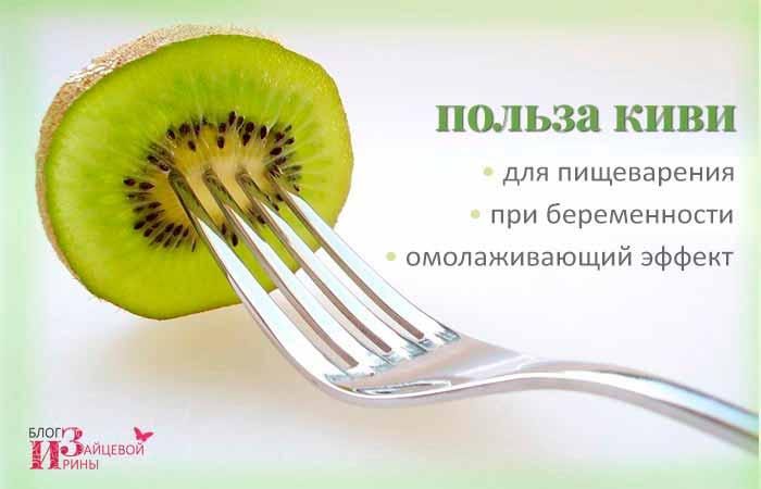 Киви: полезные свойства, противопоказания, польза, рецепты