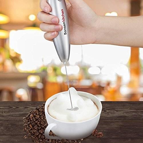 Как взбить молоко для капучино: виды вспенивателей и взбивателей