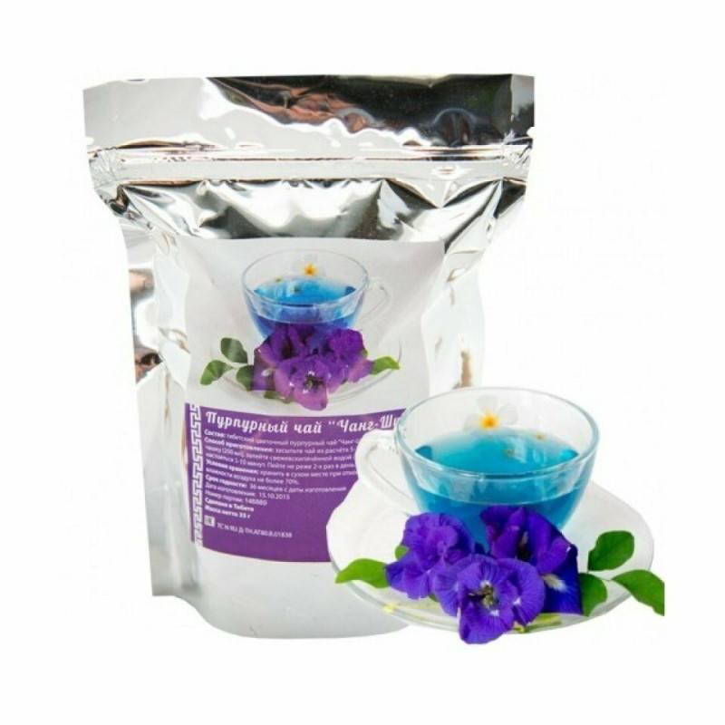 Пурпурный чай чанг шу для похудения: отзывы врачей, противопоказания