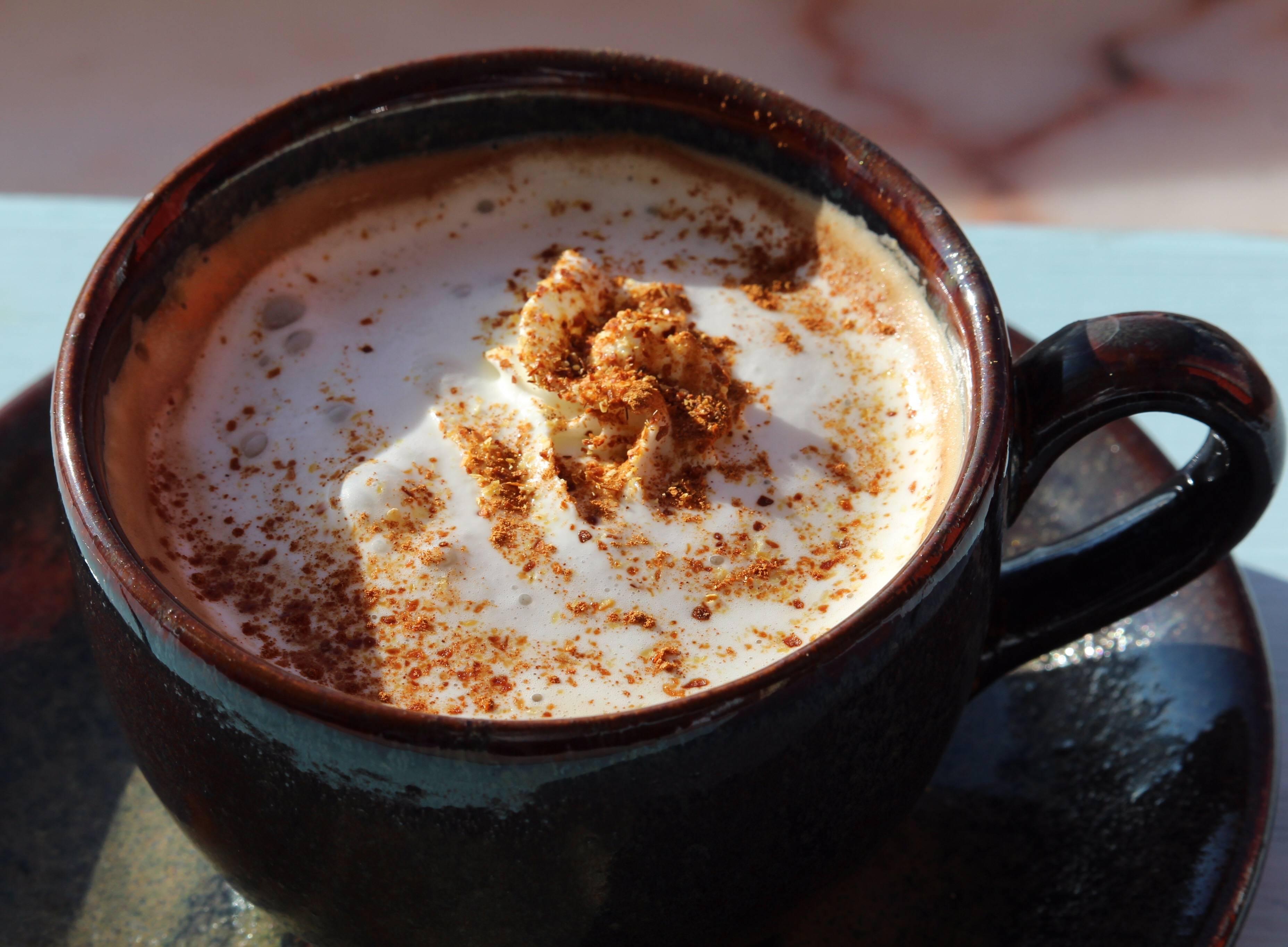 Кофейно-кокосовый шейк