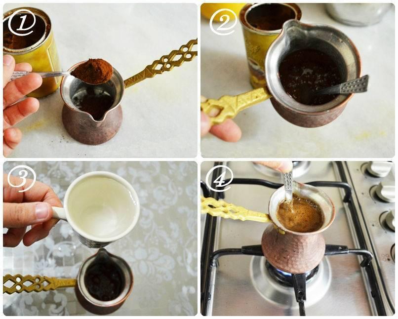 4 вкусных рецепта кофе с молоком в турке