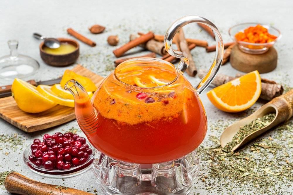 Облепиховый чай: рецепт чая с облепихой, польза и вред, как его приготовить