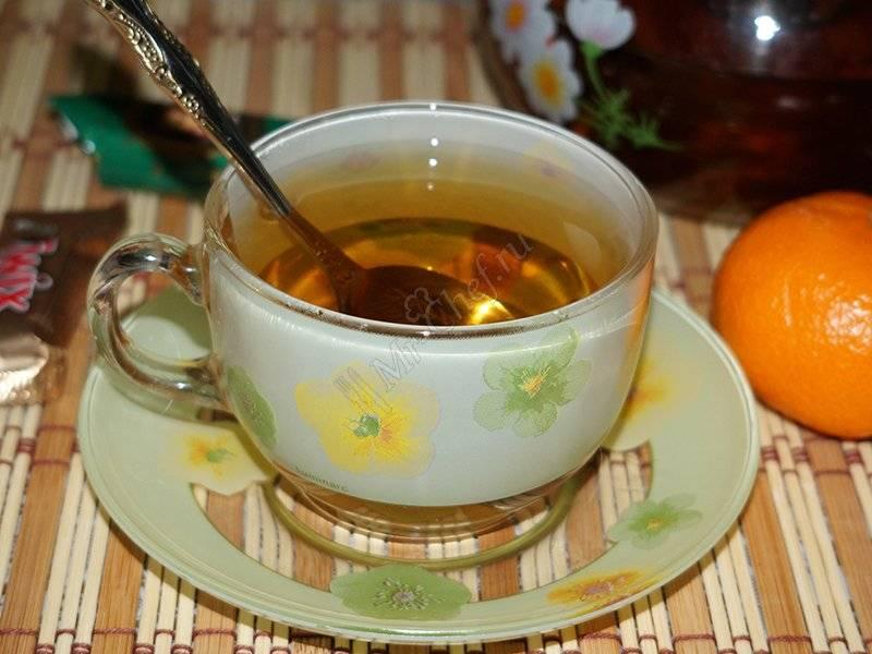 Полезно и вкусно: чай с мандариновыми корками