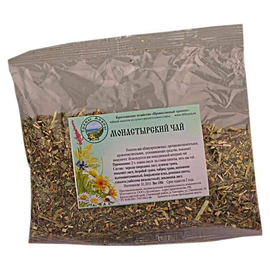 «монастырский чай» от простатита: состав, как принимать, отзывы
