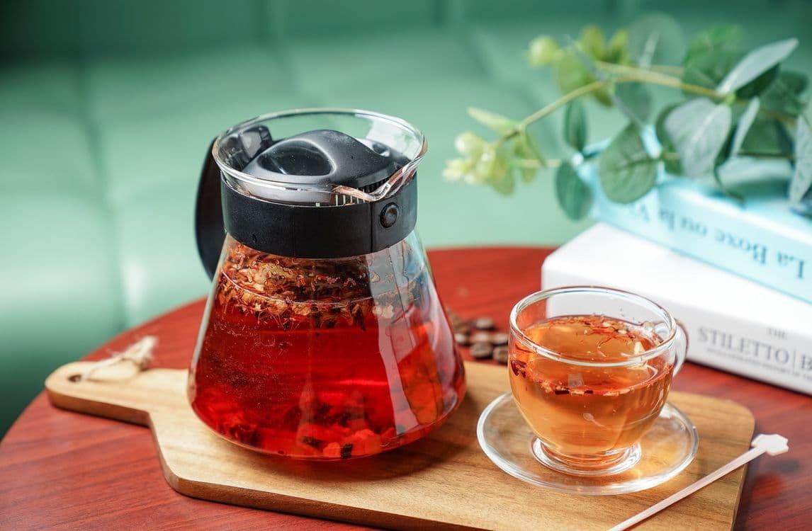 Земляничный чай польза и вред