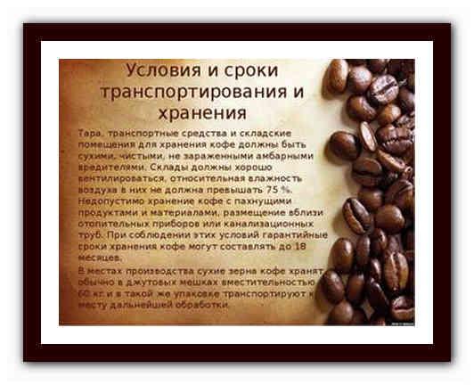 Срок годности молотого кофе | все о кофе
