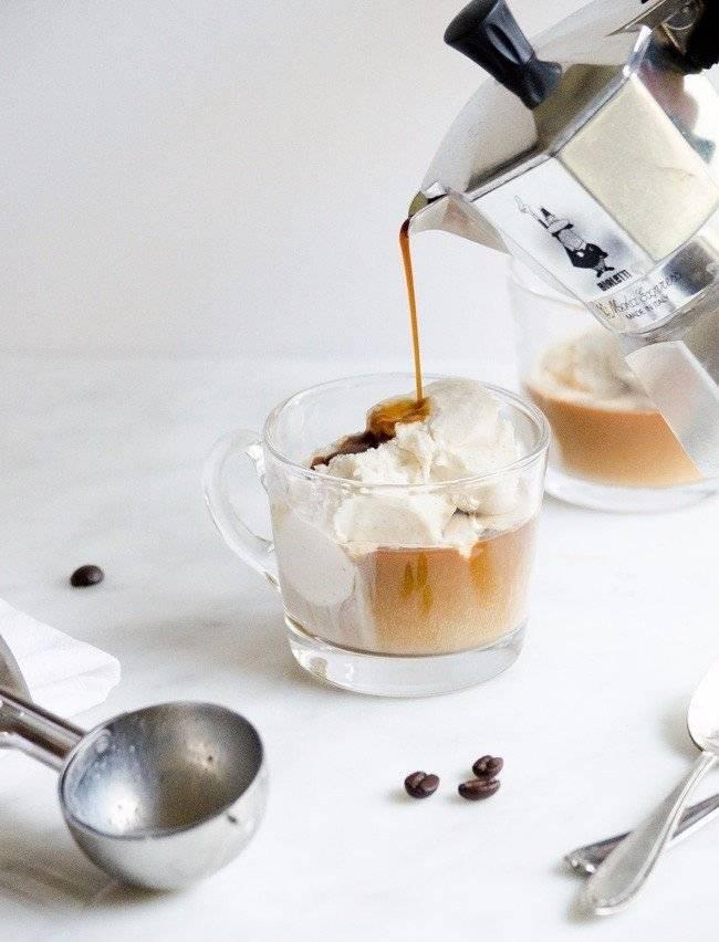Аффогато (affogato) - кофе или десерт, рецепты приготовления