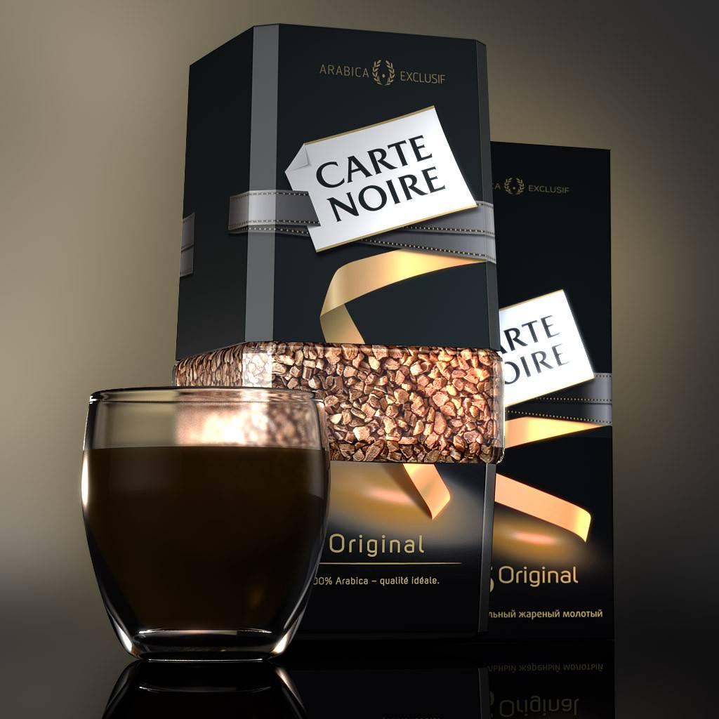 Кофе карт нуар: история, производство, ассортимент, цены, отзывы