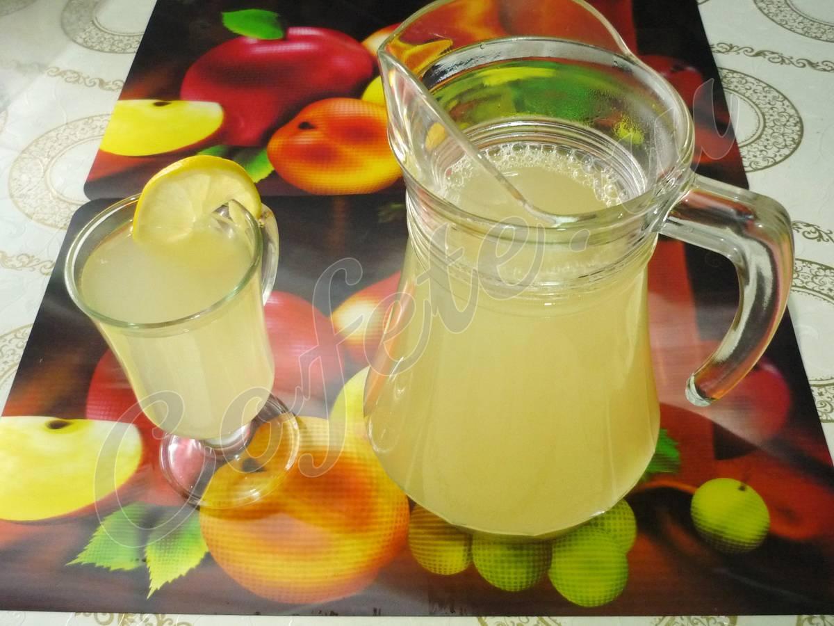 Имбирный лимонад: рецепт приготовления в домашних условиях