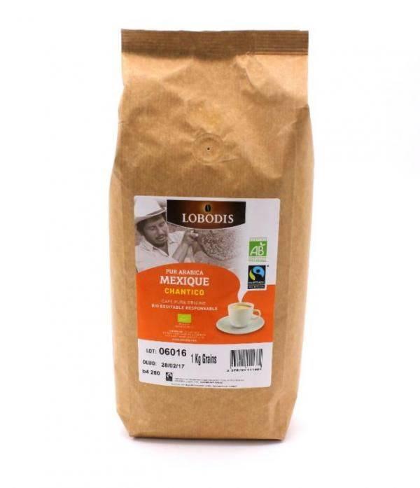 Кофе в зернах lobodis nicaragua tepeyac натуральный жареный 1 кг