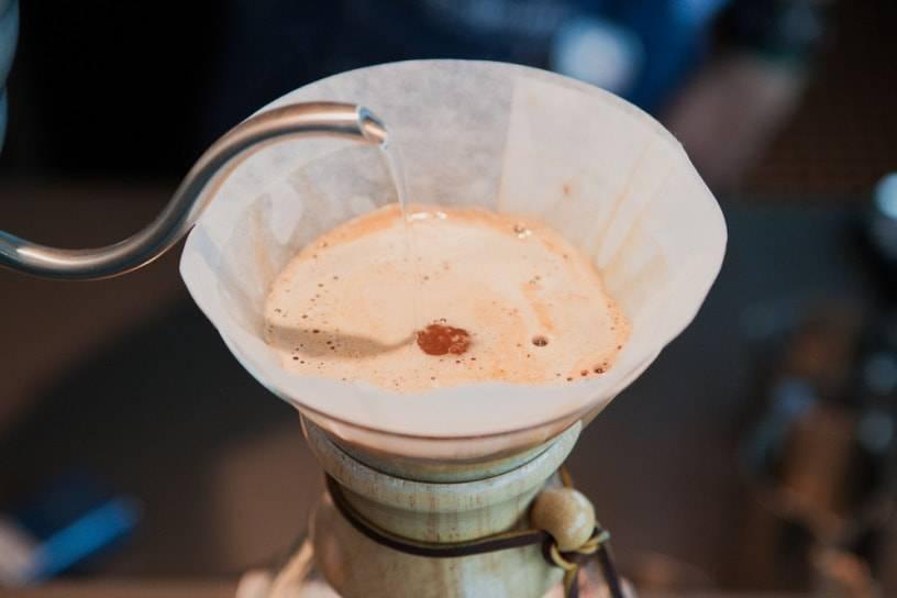 Как заварить кофе в кемексе?