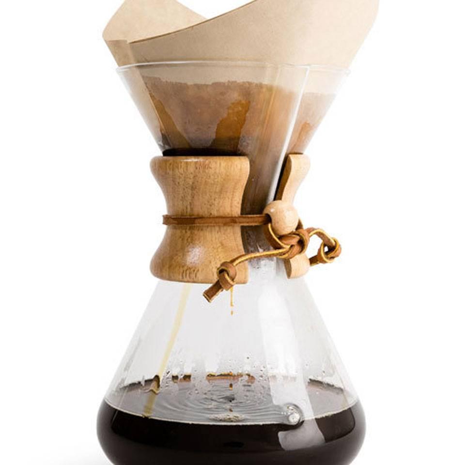 Кемекс (chemex) – понятие и инструкция по завариванию кофе