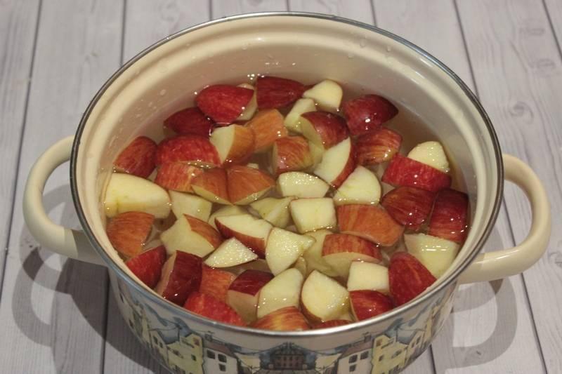 Яблочный компот из свежих яблок: 8 простых рецептов на зиму и на каждый день