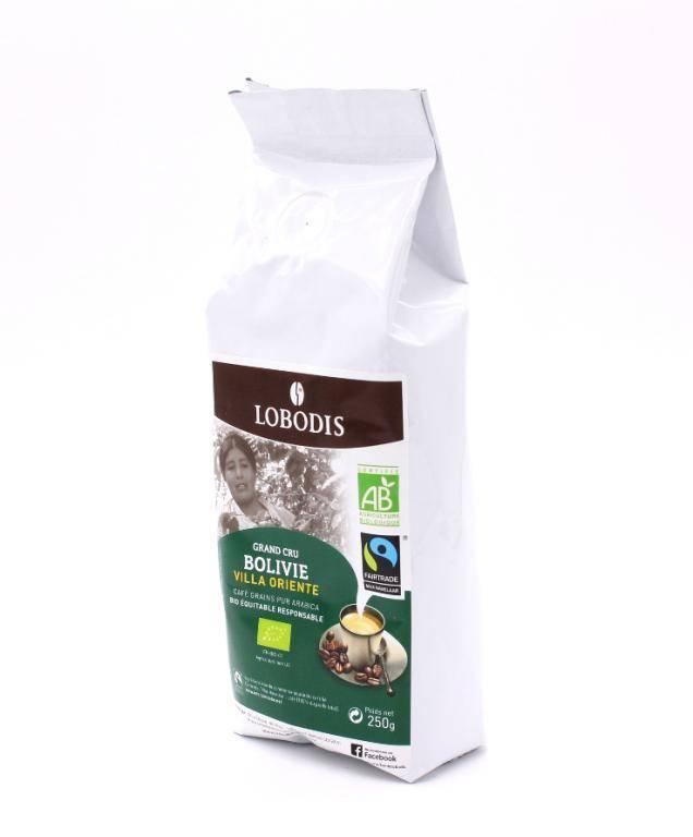 Кофе в зернах lobodis villa oriente bolivie 1кг. натуральный жареный — цена, купить в москве