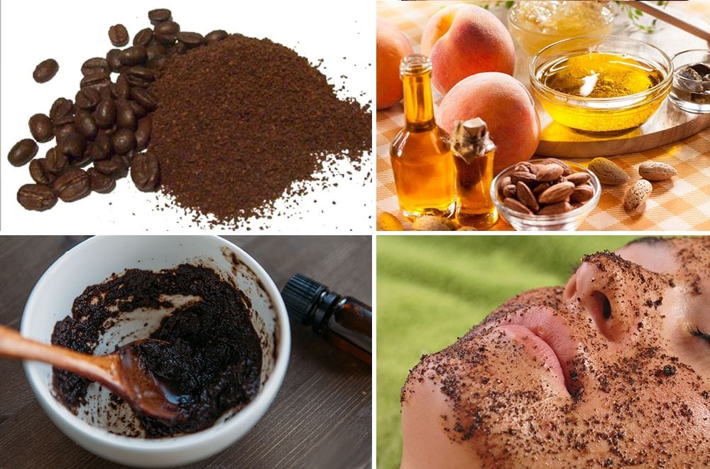 Кофейный скраб : польза и рецепты приготовления и применения
