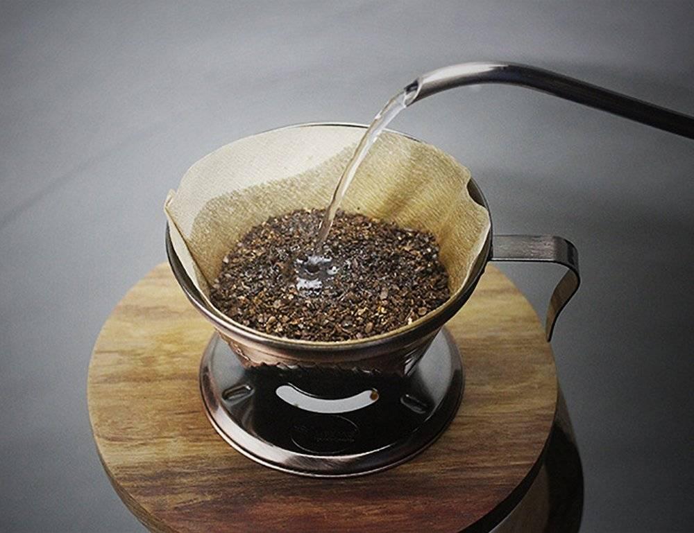 Приготовление фильтрованного кофе в домашних условиях