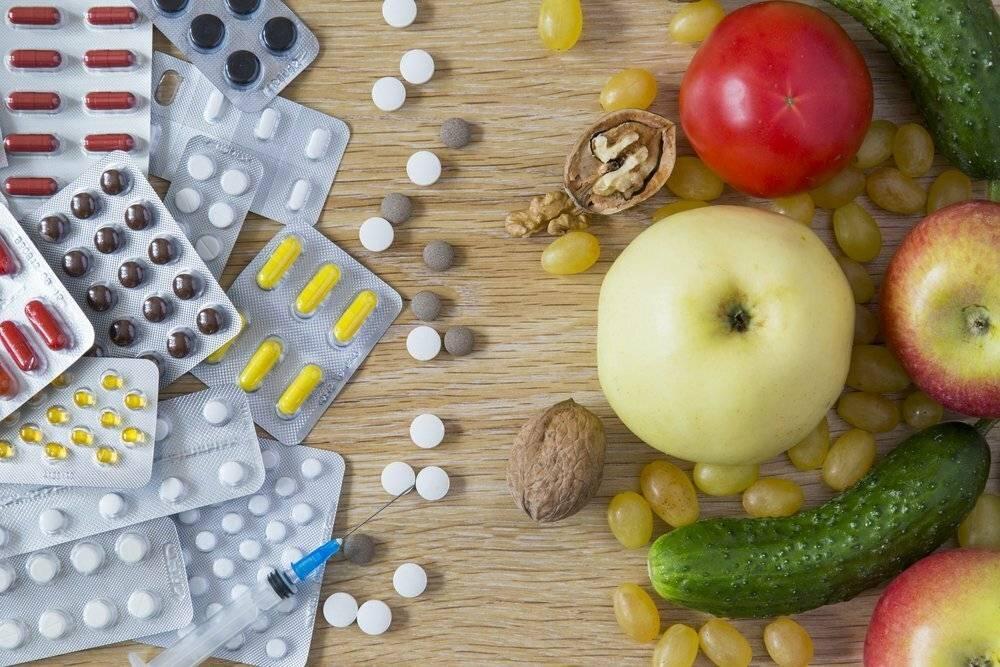 Питание при приеме антибиотиков