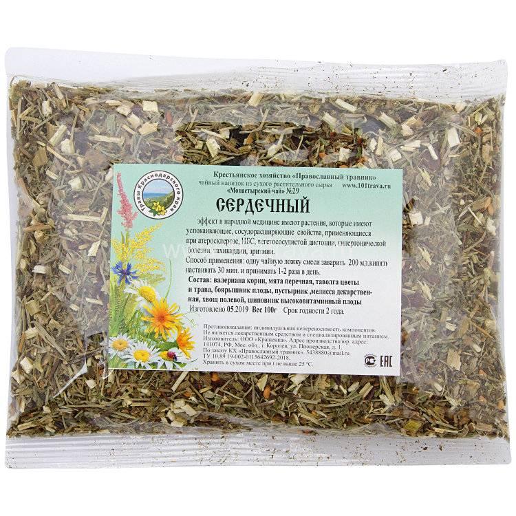 Монастырский чай (сбор) от простатита: состав трав и свойства