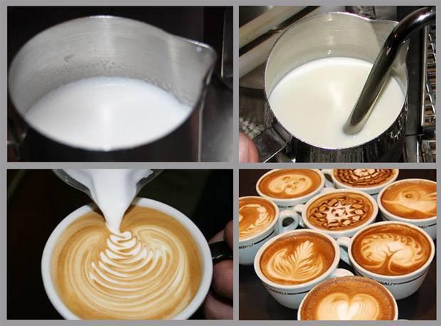 Как взбить молоко для латте или капучино