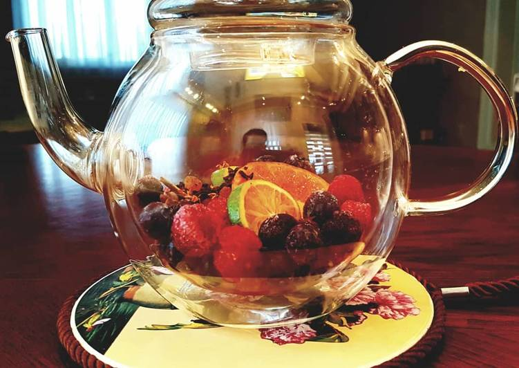 Ароматные фруктовые чаи
