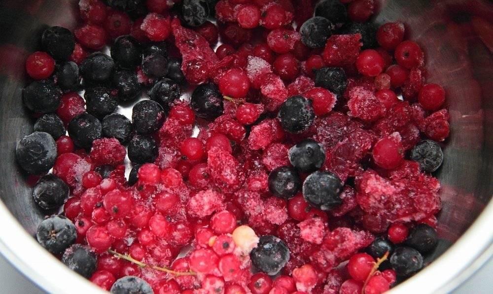 Морс из замороженных ягод, рецепт в домашних условиях