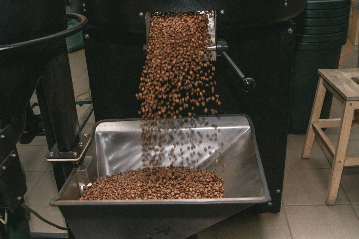 Обжарка кофе - виды, степени, влияние на вкус кофе