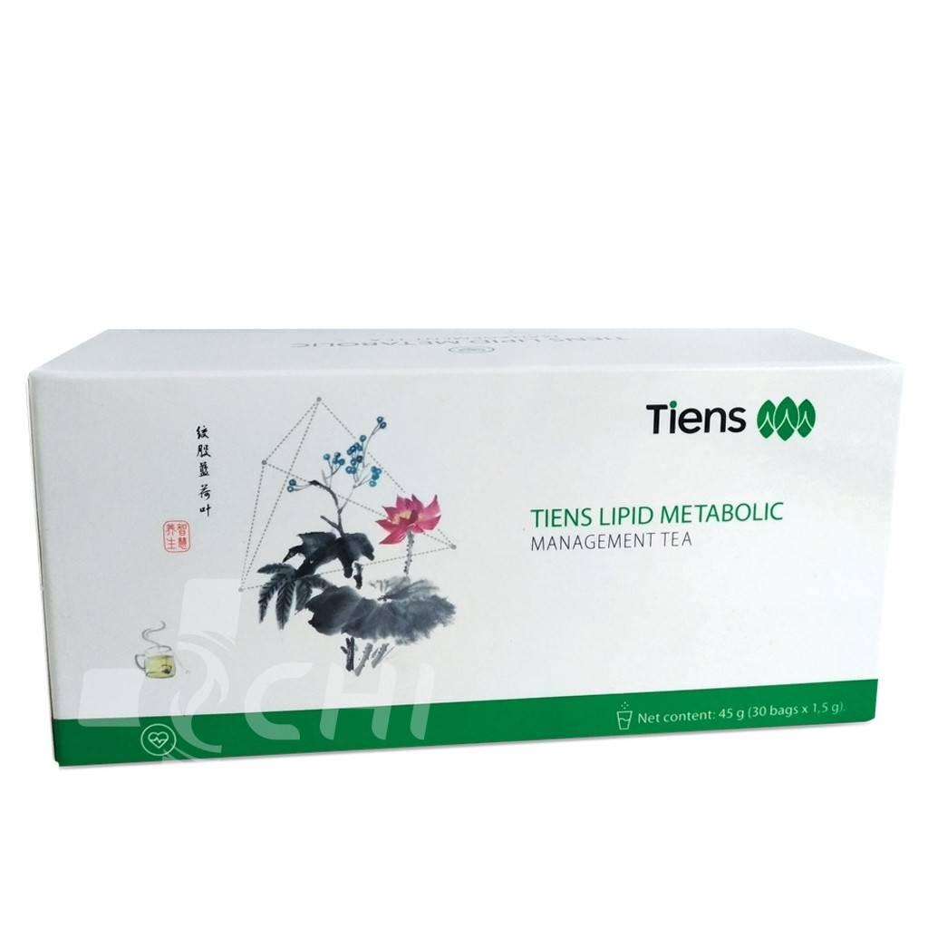 Антилипидный чай тяньши (lipid metabolic management tea tiens)