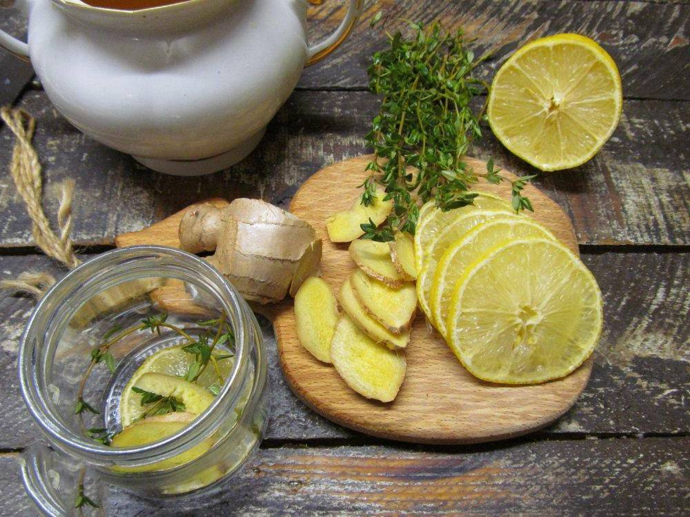 Лучшие рецепты чая с имбирем и лимоном для похудения
