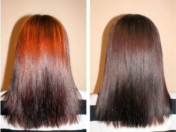 Как покрасить волосы кофе?