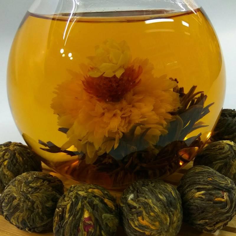 Что такое связанный (цветущий) чай, как заваривать и пить