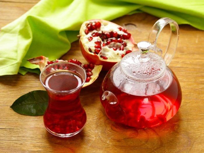 Гранатовый чай – гость из турции