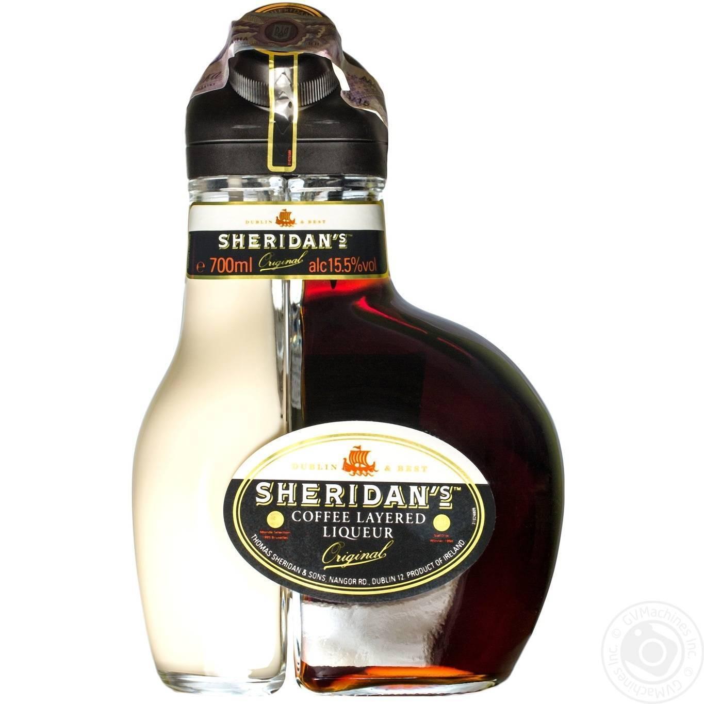 Как пить ликер шеридан правильно: с чем сочетают и как наливают двухцветный кофейный напиток