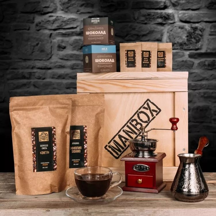 Как выбрать кофе мужчине в подарок?