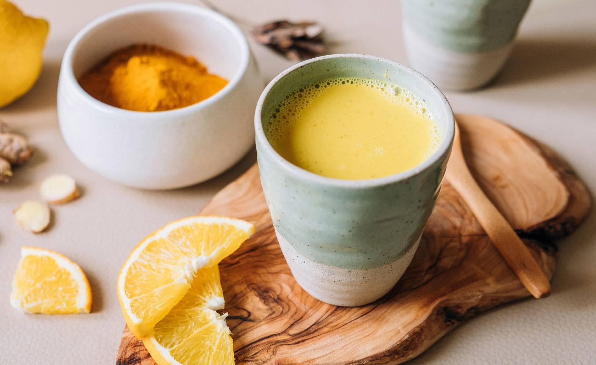 Зачем пить чай с куркумой