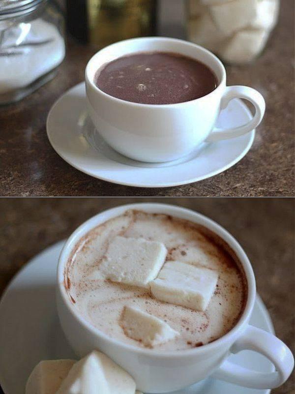 Горячий шоколад из какао-порошка: чем отличается, как приготовить, рецепты
