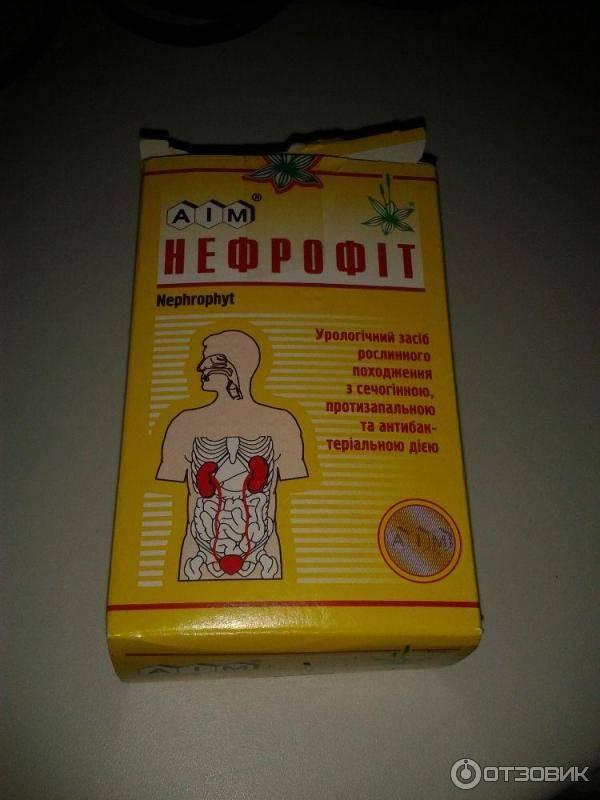 Почечный чай нефрофит