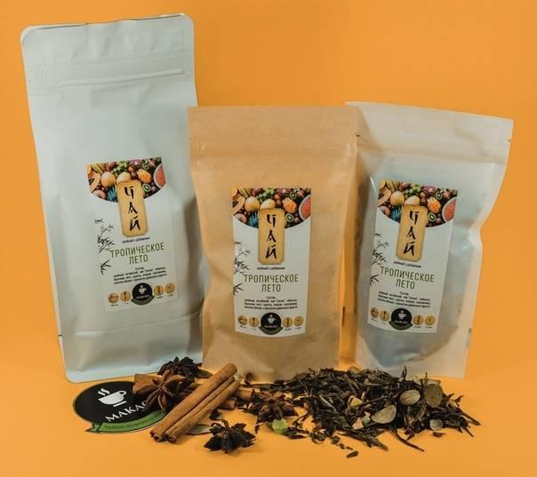 Чай фасованный: правила расфасовки, упаковка