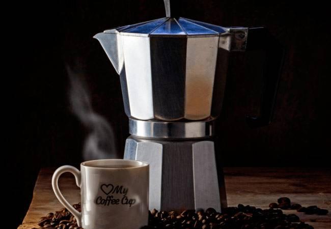 Как варить кофе в кофейнике на плите